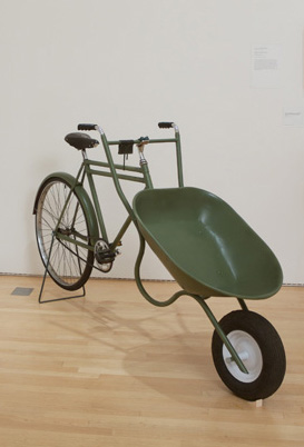 Futurefarmers: Bike-barrow at SFMoMA